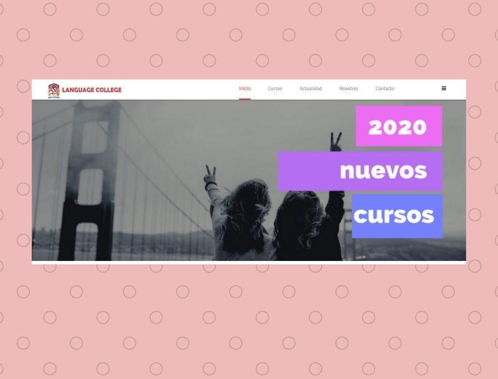 Pagina web en Roquetas de Mar Language College