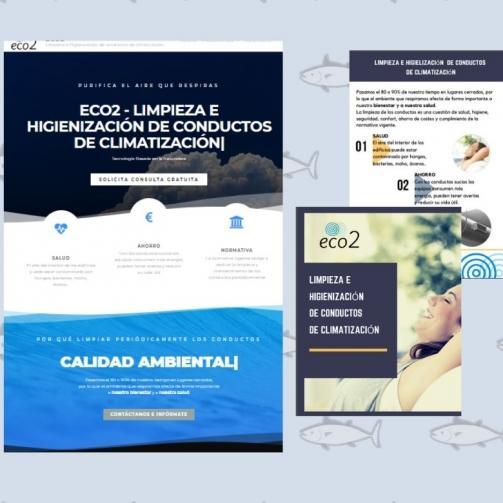 Pagina web empresa Talavera de la Reina Eco2