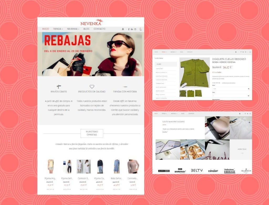 Tienda online merceria en Talavera de la Reina Nevenka