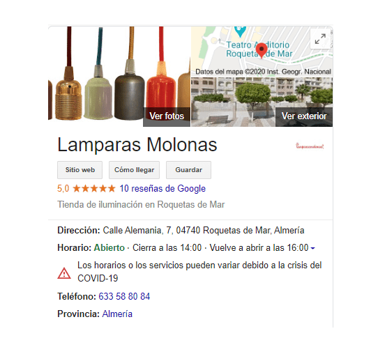 Google My Business: tu negocio online 2